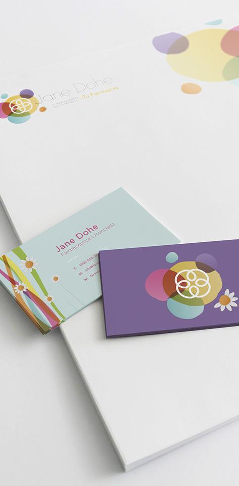 Diseño de Imagen Corporativa. Branding Farmacias
