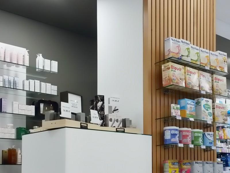 Mostrador de Farmacia Garabato