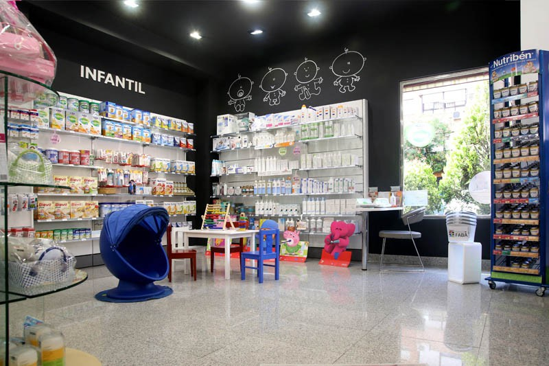 Zona infantil de la Farmacia Faba