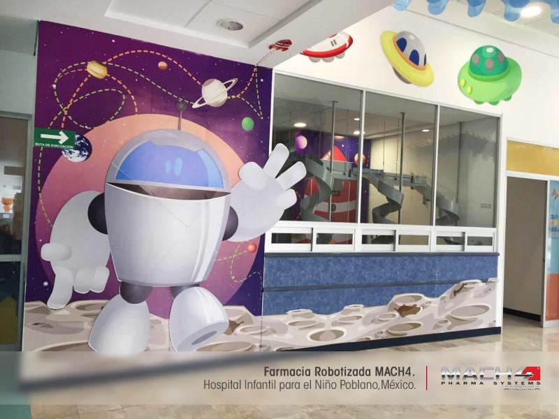 Hospital con Robot MACH4